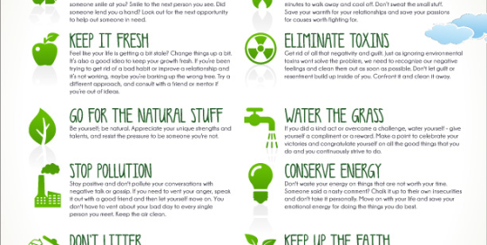 10 Tips to Improve Your Personal Environment