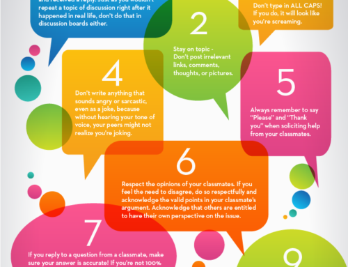 15 Rules of Netiquette for Online Discussion Boards
