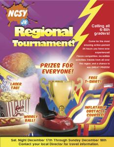 JR NCSY Regional Tournament