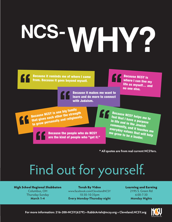 NCS-WHY poster