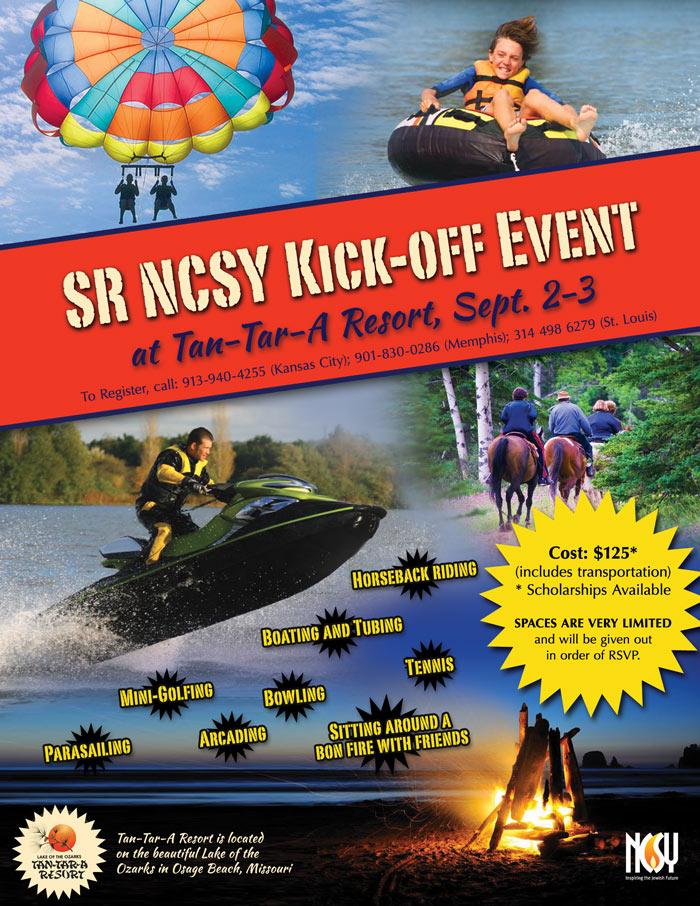 Senior NCSY Kickoff Event