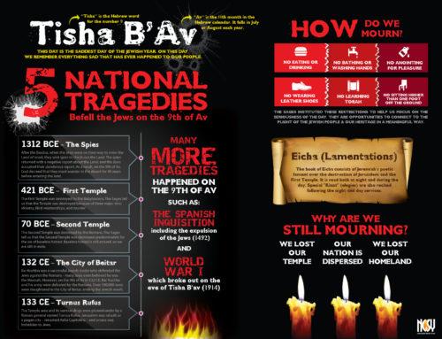 Tisha B'Av Infographic