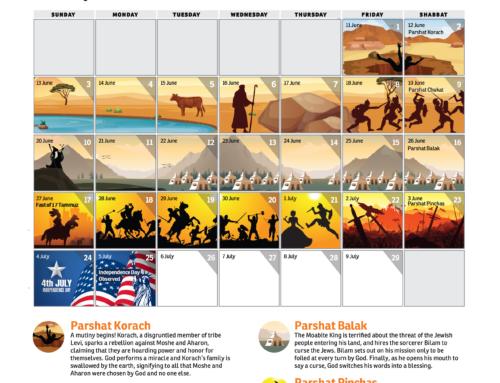 Illustrated Parsha Calendar