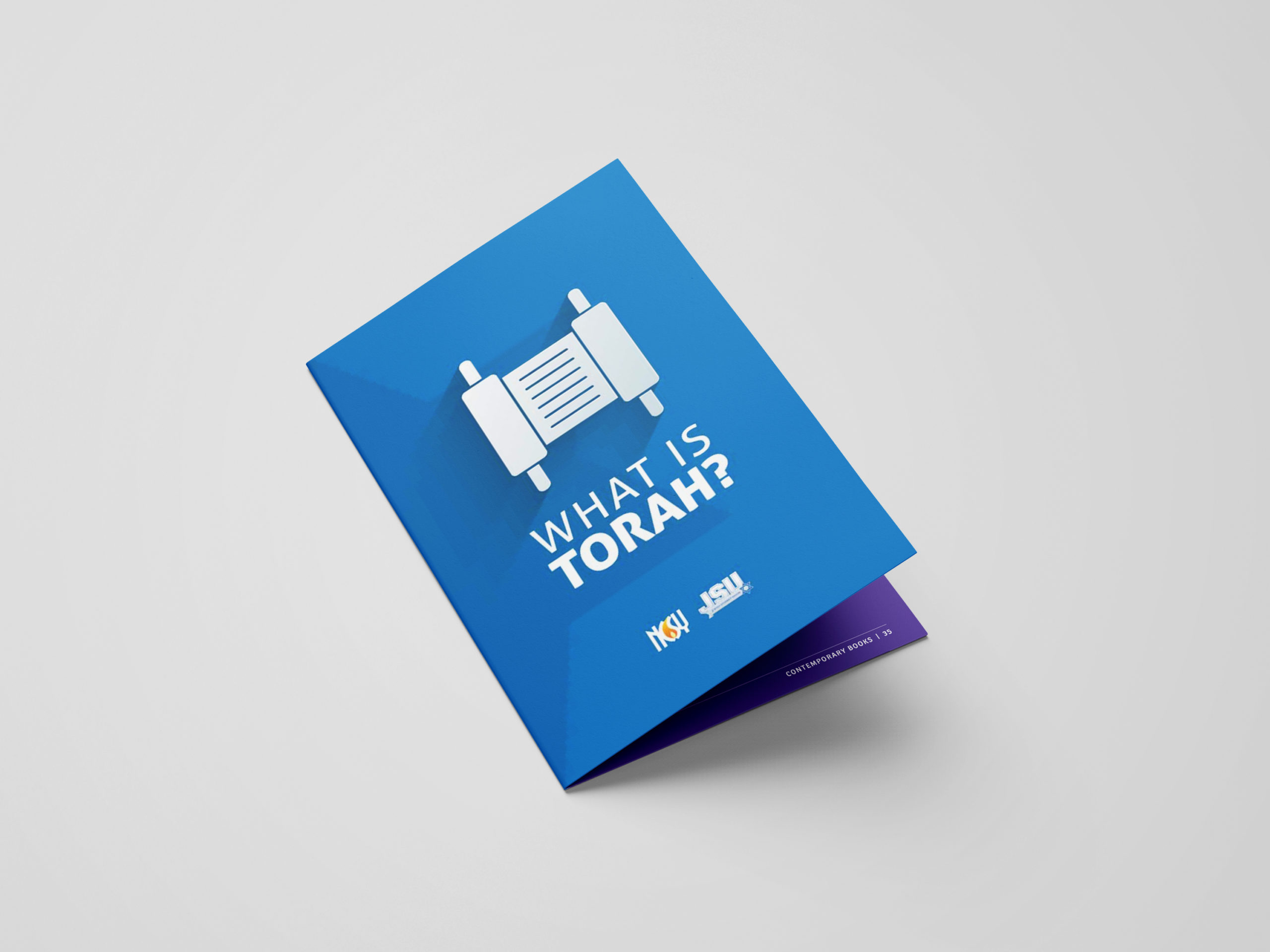 What is Torah booklet mockup