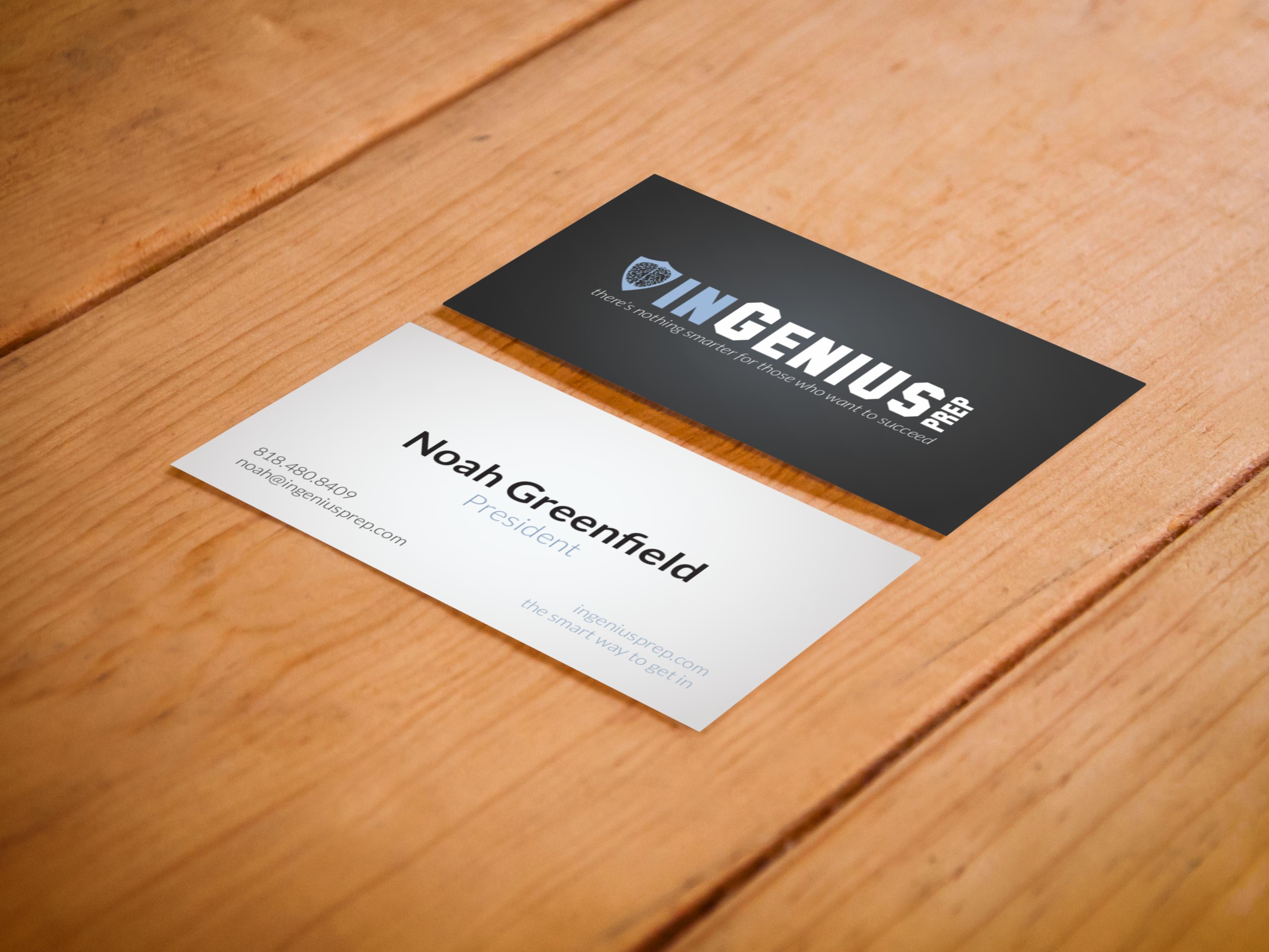 business card ingeniusprep