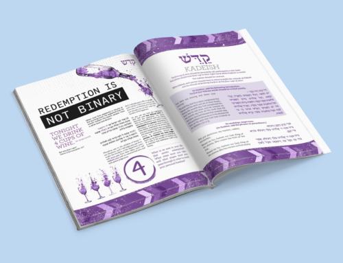 Haggadah – Kadeish spread
